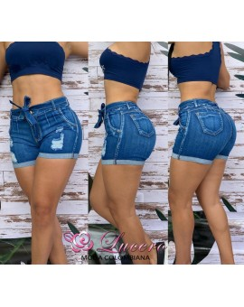 SHORT VAQUERO BOLSILLOS REALCE  PUSH-UP